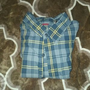 ☆Casual Button Down Shirt EUC